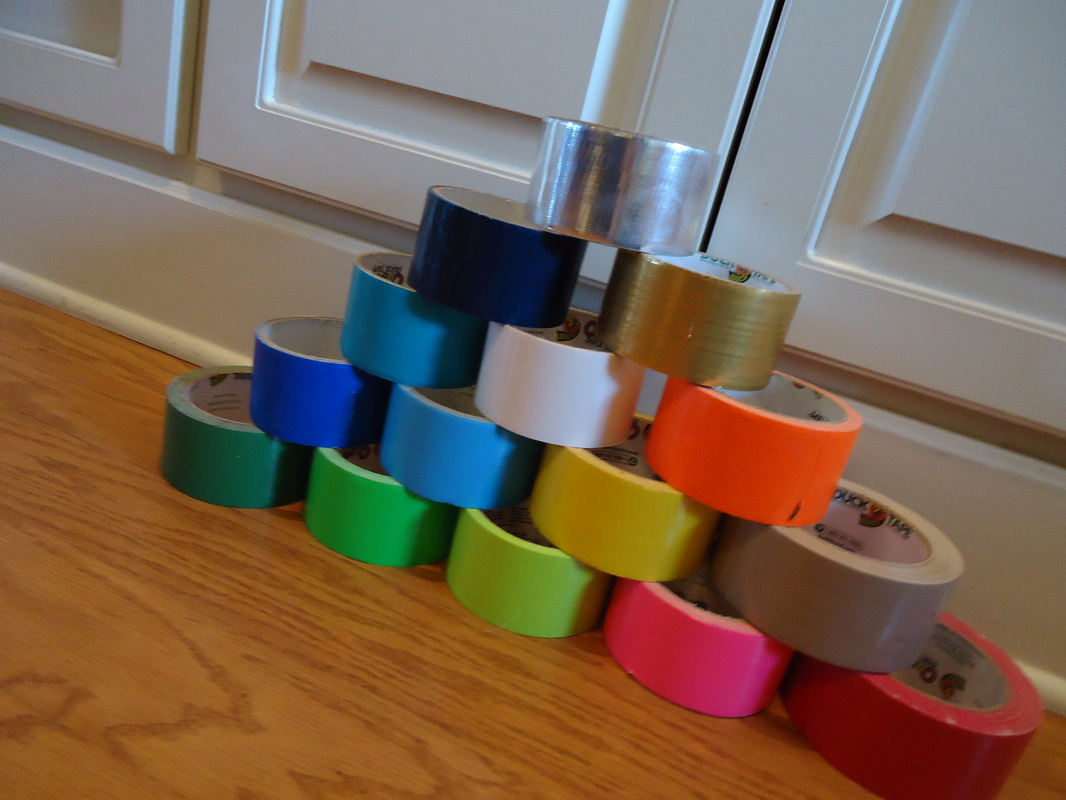 Available duct tape duct tape renaissance simple colors include forest green lime green pale green hot pink red tan yellow light blue dark blue orange white turquoise gold navy blue aloadofball Image collections